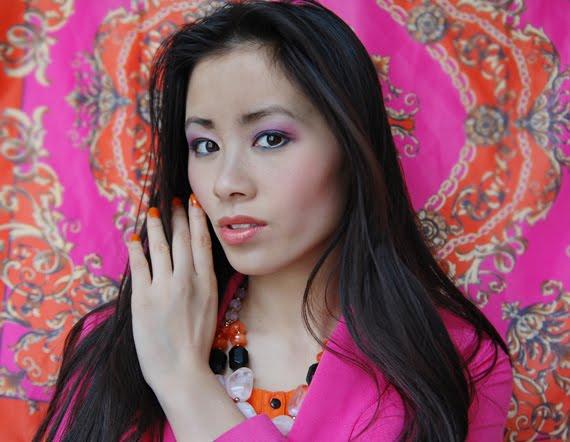 colourblocking-look-roze-oranje Look of today: Colourblocking Pink/Orange