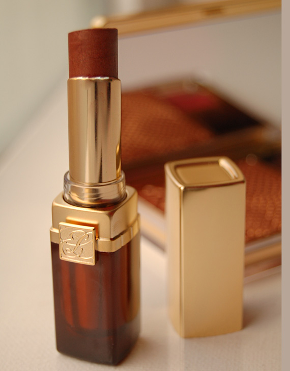 estee-lauder-topaz-lipstick-pure-color-sultry-caramel Estée Lauder Topaz Spring/Summer look