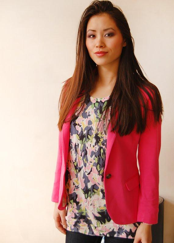roze-blazer-combineren Trend: roze blazer, hoe combineren?