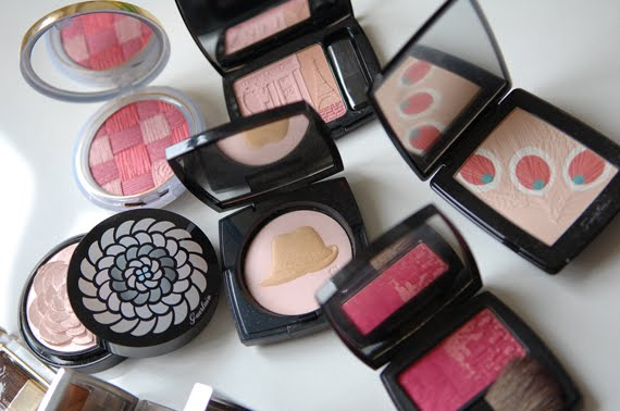 roze-poeders-blushes Mijn mooiste limited edition blushes/highlighters: luxe merken