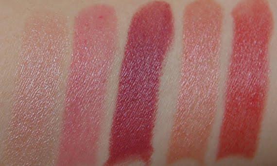swatch-dr-hauschka-lipstick Dr. Hauschka inner Glow lipsticks + winactie!