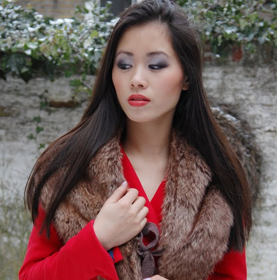 valentijnslook2-My-HUong-make-up-red-lipstick-chanel-rouge Valentijnslook