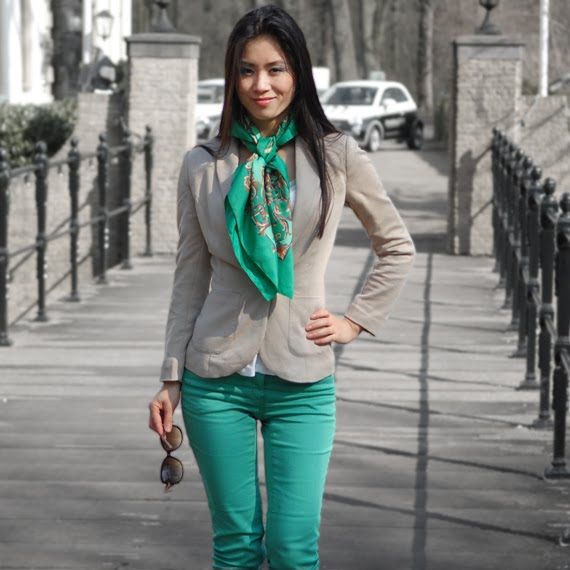 Avater-my-huong-fashion-looks-outfit-of-today The green skinny look