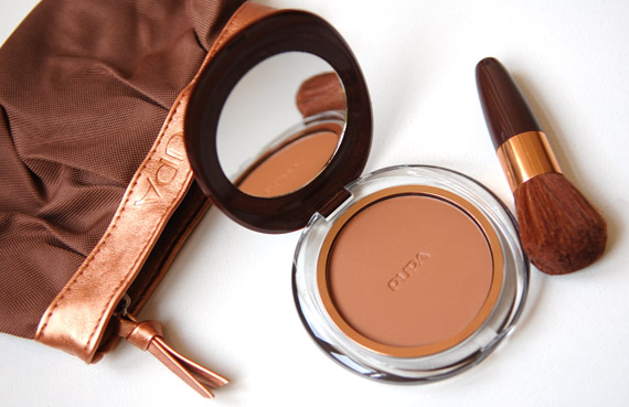 Pupa-Bronzing-kit Pupa Diva's lash & Desert bronzing powder kit+ look