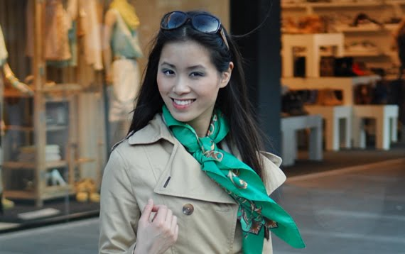 green-outfit-shopping The green skinny look