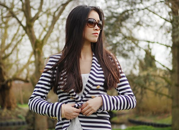 les-jeans-look-my-huong-24 Look of today: The Sailor Blazer with Les Jeans