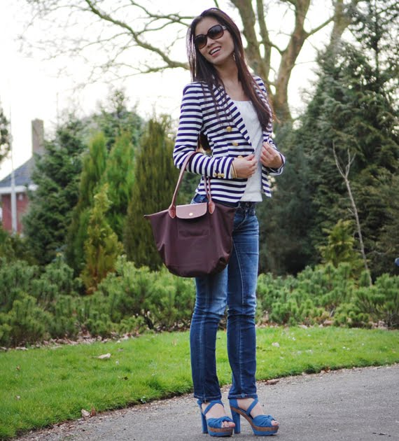 les-jeans-my-huong-245 Look of today: The Sailor Blazer with Les Jeans