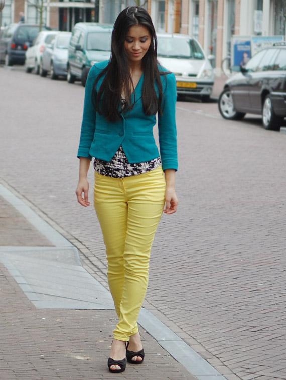my-huong-look-gele-broek Look:  The Yellow pants!