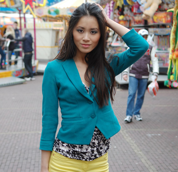 my-huong-look-of-today-kermis Look:  The Yellow pants!