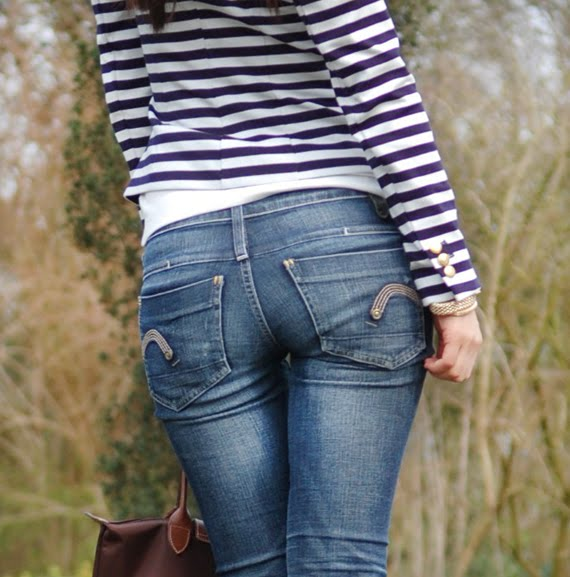 mzoom-jeans Look of today: The Sailor Blazer with Les Jeans