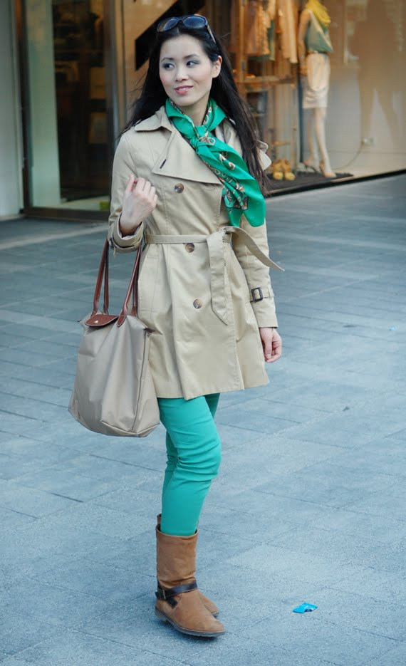 outfit-go-green The green skinny look