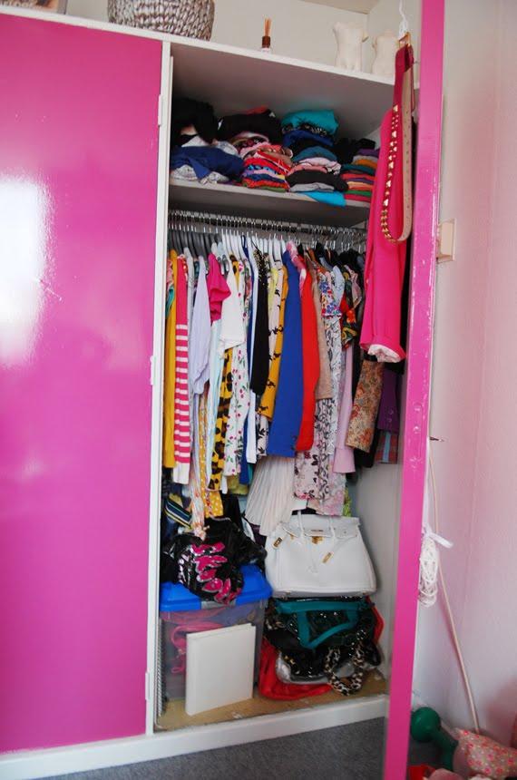 Ellens-garderobe-kast Een kijkje in Ellen's warderobe