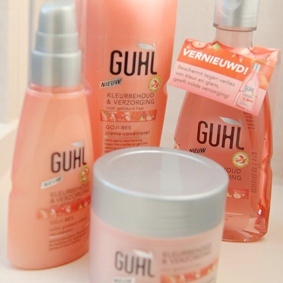 Guhl-kleurbehoud-shampoo-lijn Guhl Kleurbehoud & Verzorging + winactie
