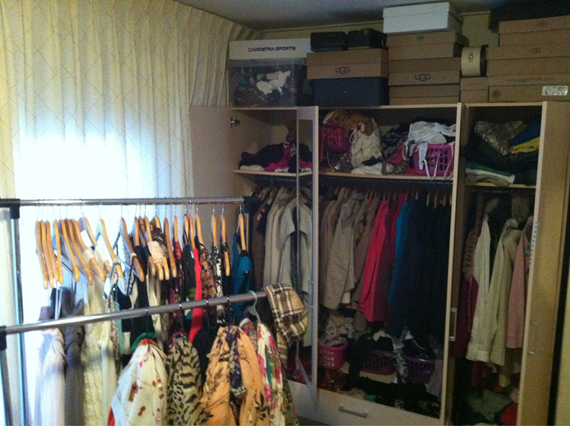 Kledingkamer-sorteren The Beauty Musthaves: Diary april 2012