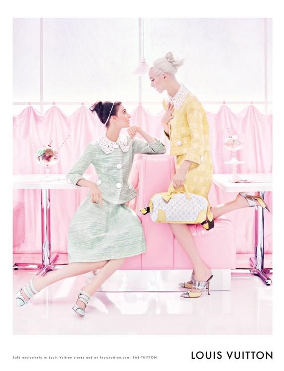 Louis-vuitton-roze Louis Vuitton Spring 2012 Campagne