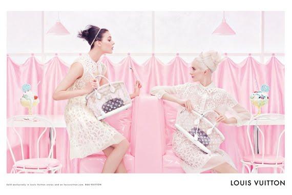 Louis-vuitton-setting Louis Vuitton Spring 2012 Campagne