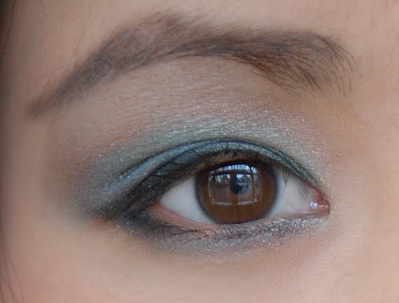 clarins-ombre-minerale-4-couleurs-eyelook-my-huong Clarins Make-up: Ombre Minerale Blue Sky, Gloss Prodige& Foundation Ever Matte