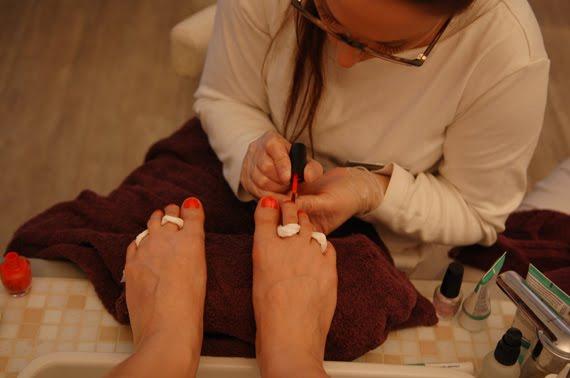 opi-oranje-nagellak EVENT: Hansaplast 90 jaar! Pedicure bij Soap Treatment Store