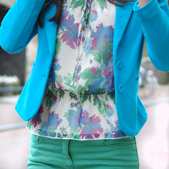 AVATAR-OUTFIT-OF-TODAY Look of today: Blue & Green