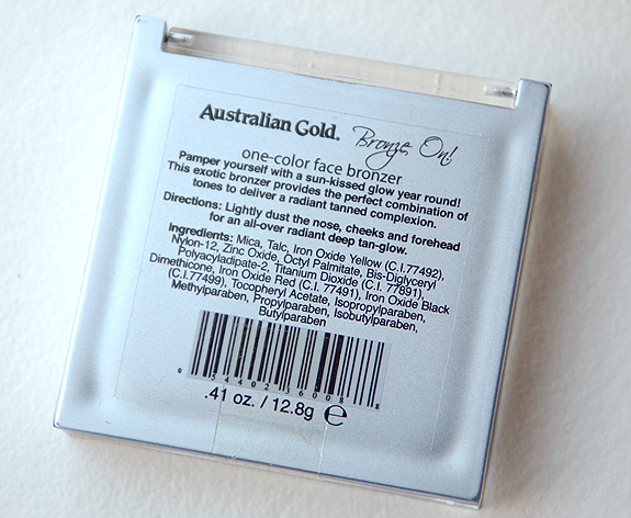 Australian-Gold-Bronze-out-one-color-face-bronzer Australian Gold: Bronze On! Face Bronzing Powder Palette