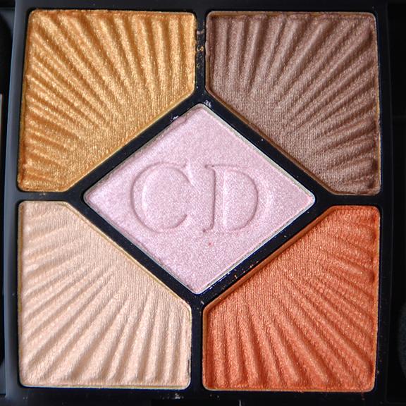 Dior-Croisette-654-aurora-eyeshadow Dior Aurora 'Le Croisette' 5 Couleurs Palette