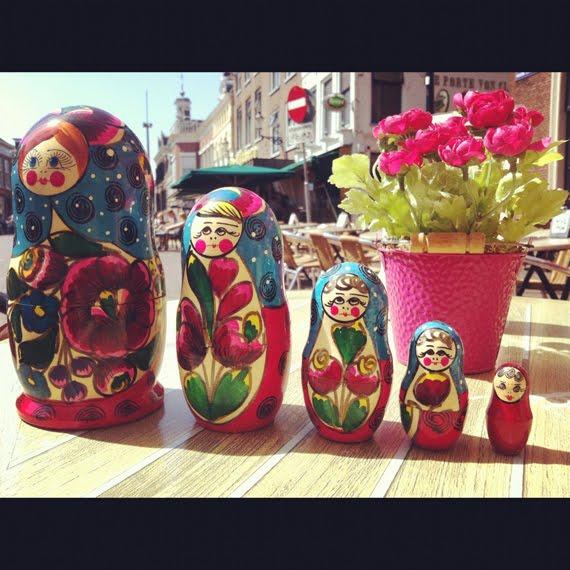 Matroeska-rusland-poppetjes-van-Rita-Fietje The Beauty Musthaves Diary pic's mei 2012