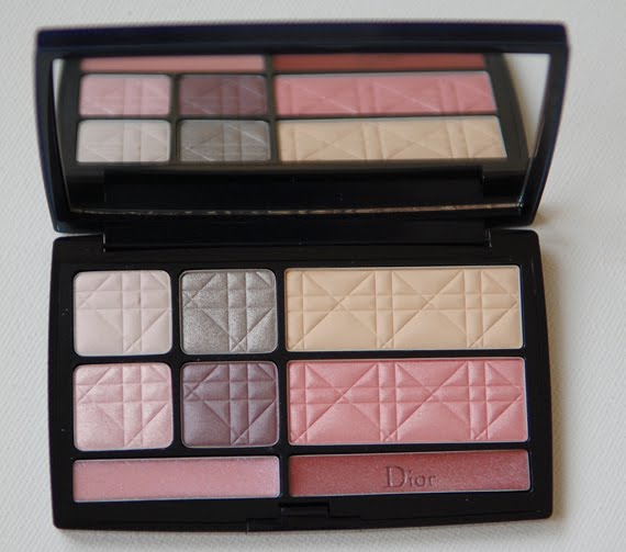 dior-travel-palette-eyes-face-doosje-luxury-make-up Dior Travel Palette