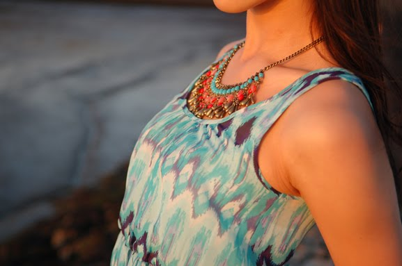 ketting-accesoires-outfit-look-of-the-day Look of today: The sunset