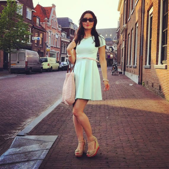 look-of-today-pastelprint-jurkje The Beauty Musthaves Diary pic's mei 2012
