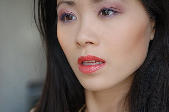 my-huong-coral-look-guerlain-sans-souci Make-up look of today!