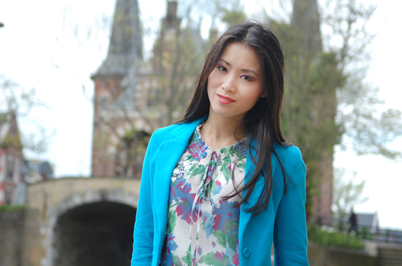 my-huong-look-hemelvaartsdag-sneek Look of today: Blue & Green