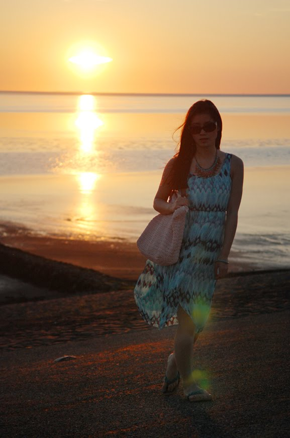my-huong-the-sunset-look Look of today: The sunset
