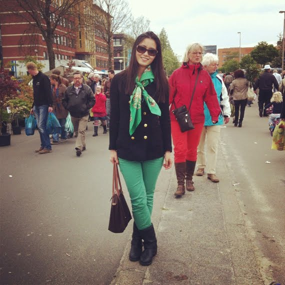 outfit-bloemetjes-markt The Beauty Musthaves Diary pic's mei 2012