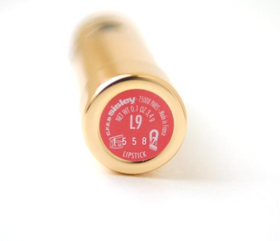 rouge-sisley-lipstick-l9 Sisley Rouges à Lèvres Hydratants Longue Tenue