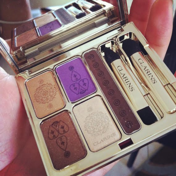 smelt-clarins-enchanted-india-oogschaduw-palette The Beauty Musthaves Diary pic's mei 2012