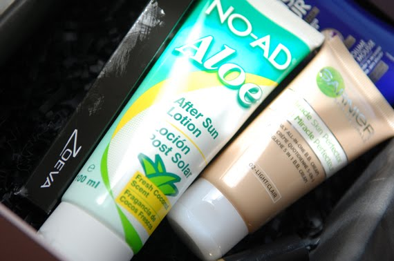 Noa-ad-aloe-aftersun-Glossybox What's in my Glossybox?