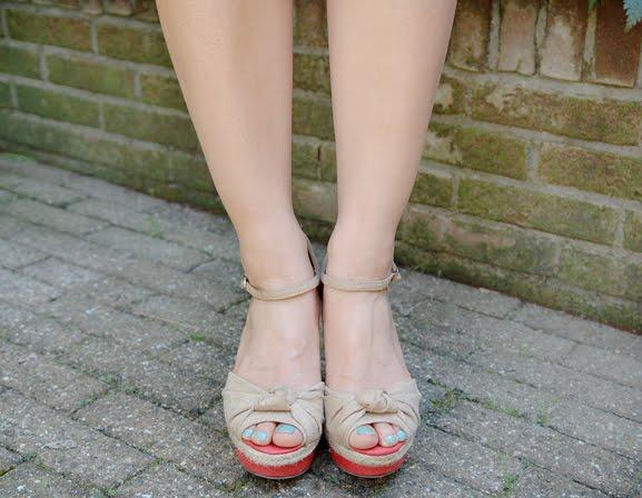 Shoes-sasha-sleehakken-safari-look Look of today: Short in summer!
