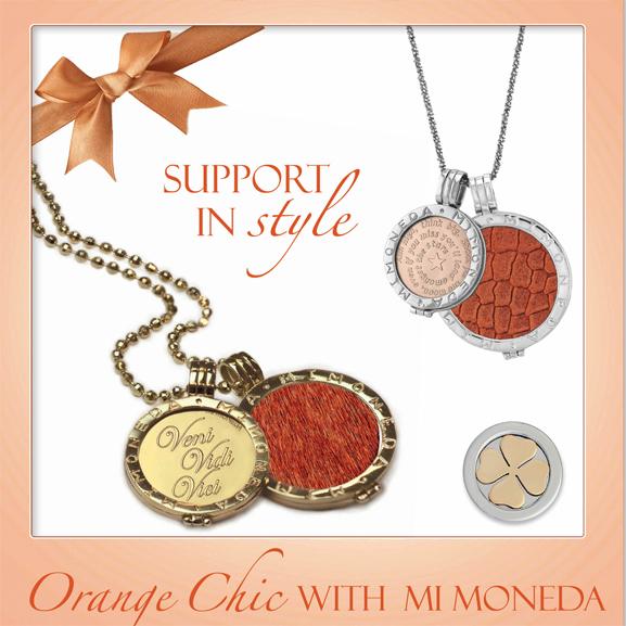 Support-in-style-ek-Orange-chic-with-Mi-Moneda Musthave: Orange Chic Mi Moneda