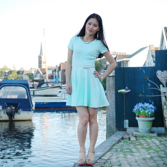 mintgroen-jurkje-my-huong Trend: Mint Groen