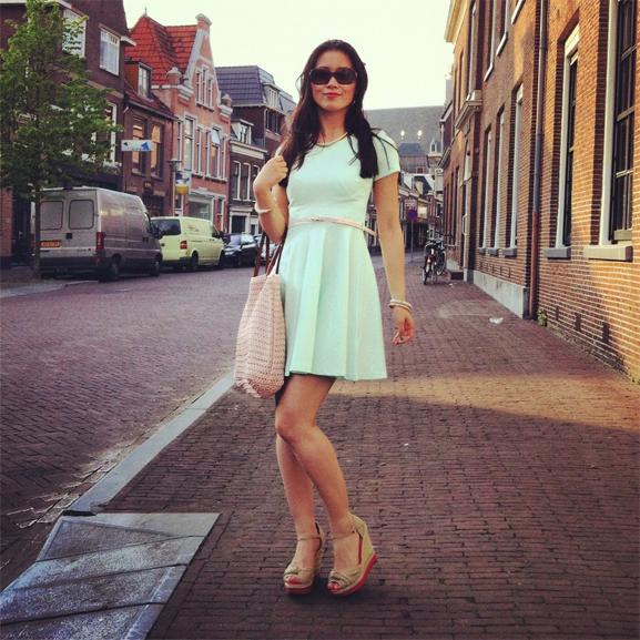 mintgroen-jurkje-sneek-my-huong Trend: Mint Groen
