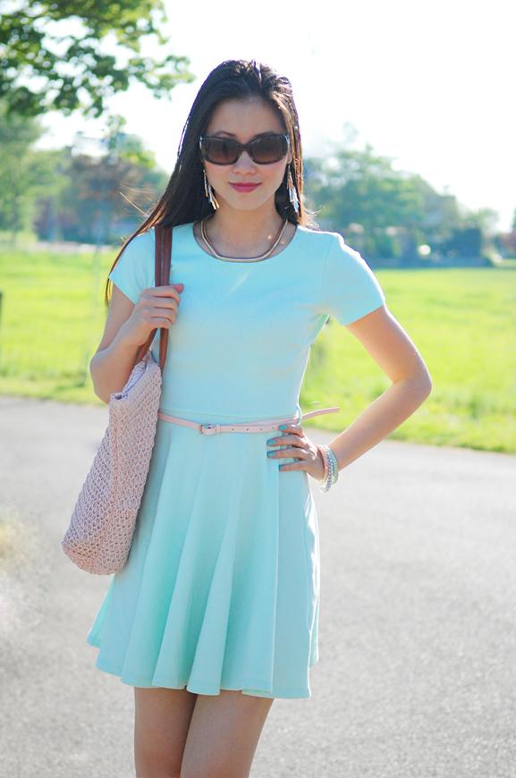 mintgroene-jurk-my-huong-summer-2012-look-of-today Trend: Mint Groen