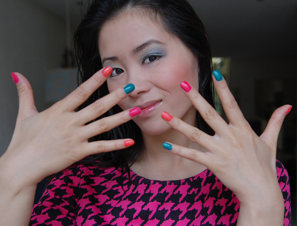rimmel-olympics-nails-neon-colours Win! 3x Rimmel Olympics Collection  t.w.v: €70,-