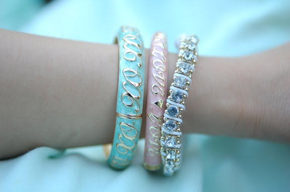 sal-y-limon-armbanden-accesoires Trend: Mint Groen