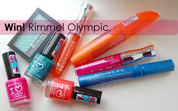 winactie-rimmel-olympics Win! 3x Rimmel Olympics Collection  t.w.v: €70,-