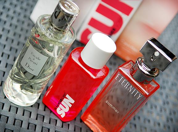 Dior-Escale-Parati-Parfum-Jil-Sander-Sun-Eternity-Summer Dior Escale à Parati, Jil Sander Sorbet Sun, Eternity Summer Calvin Klein