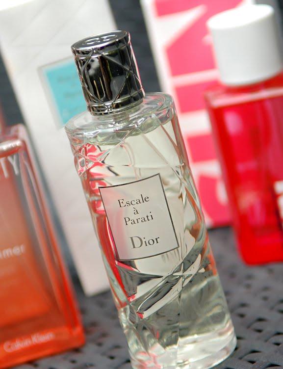Escale-a-parati-Dior Dior Escale à Parati, Jil Sander Sorbet Sun, Eternity Summer Calvin Klein