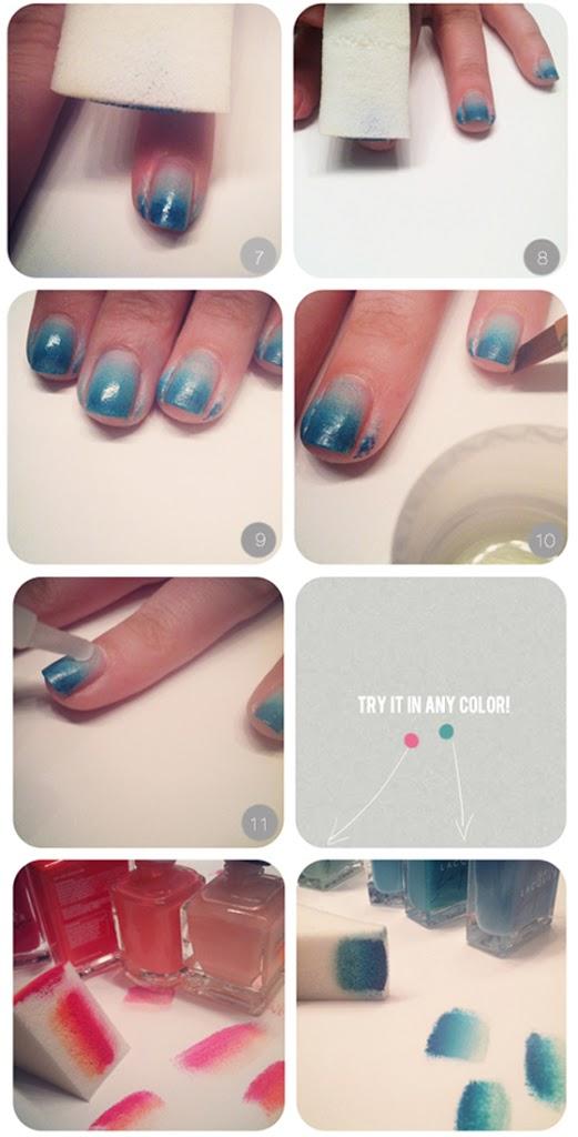 Ombre-nails-deel-2 DIY: Ombre nails!