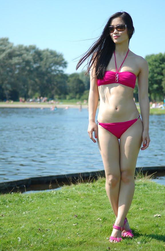 my-huong-bikini-look-baku-roze-pink Look of today: the beach look