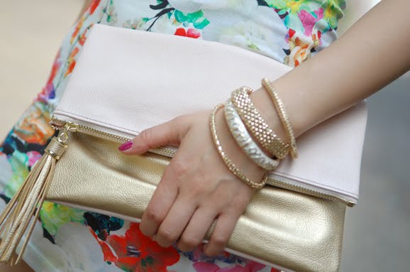 my-huong-look-clutch-hm Look of today: chinese rose dress