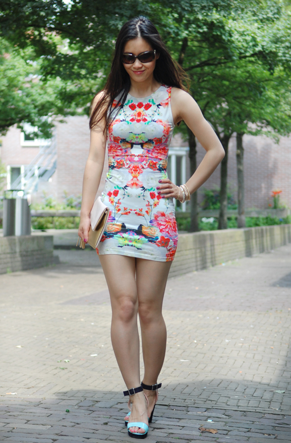 my-huong-look-summer-dress Look of today: chinese rose dress